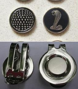 1 only COBRA SNAKE GOLF BALL MARKER approx 23mm & a golf HAT
