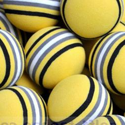 10pcs EVA Rainbow Golf Ball Fitness Training Practical Color