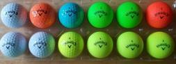 12 Callaway golf balls  7 Supersoft Ball *SuperHot Matte New