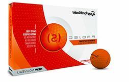 TaylorMade 2018 Project  Golf Ball, Matte Orange