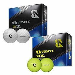 2018 Bridgestone Tour B XS Golf Balls 3 Dozen White NEW