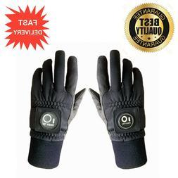 2020 Finger Ten Mens Raingrip Golf Gloves Pair - Winter Wet