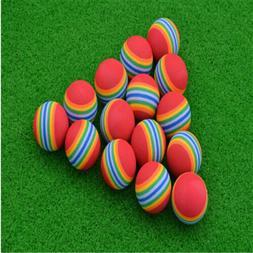20Pcs Light Foam Golf Balls Sponge Elastic Indoor Outdoor Pr