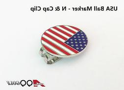 2sets of A99 Golf USA Flag Golf Ball Marker - N with with Ma