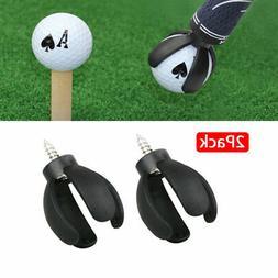 2X 4-Prong Golf Ball Pick Up Retriever Grabber Claw Sucker T