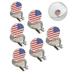Crestgolf 3pcs/pack National Flag Golf Ball Marker Magnetic