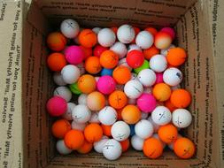 36 MAXFLI  SOFTFLI GOLF BALL MIX IN AAA+ TO MINT CONDITION