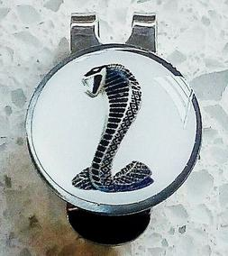 anneys ~ GOLF  BALL  MARKER plus hat clip - * cobra - white