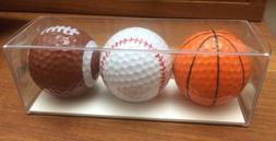 Basketball Baseball Football Golf Balls - Enjoy Life - Sport