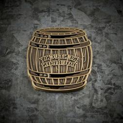 Bourbon Barrel Golf Ball Marker Coin Metal Cameron Lamb 3 Fo