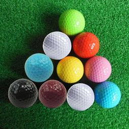 Brand New Assorted Color Mini Golf Balls Colorful Golf Pract