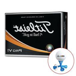 Brand NEW Titleist Pro V1 Golf Balls *FREE MULTEE* FREE SHIP