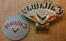 Brand New Red, White and Blue Callaway Golf Ball marker with