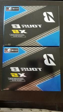 Brand New Bridgestone Tour B XS White Golf Balls