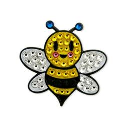 bumble bee swarovski crystal ball marker
