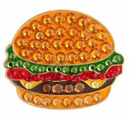 Bonjoc Burger Swarovski Crystal Ball Marker