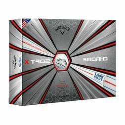 Callaway Chrome Soft X Triple Track Dozen Golf Balls FREE SH