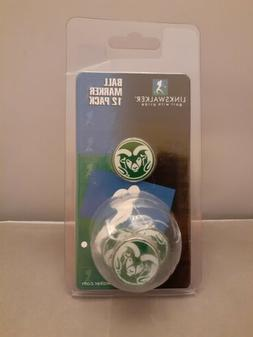 College Golf Ball LinksWalker Ball Marker & Logo Ball Colora