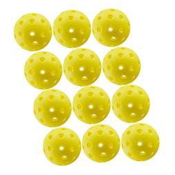 Crestgolf Pickleball Balls 70mm plastic ball floorball 26 Ho