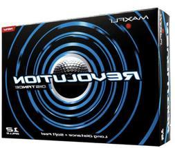 Maxfli Revolution Distance Golf Balls : NEW 12 PACK FREE Shi