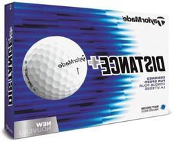 distance plus golf balls one dozen