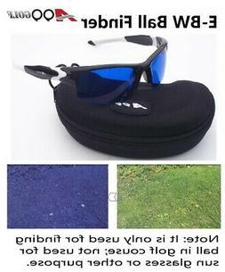 E-BW A99 Golf Golf Ball Finder Glasses Black White Frame wit