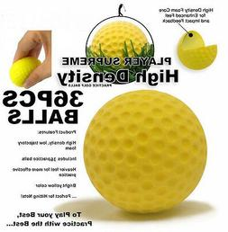 A99 Golf Elastic Practice Pu Balls Yellow 130 Pcs - Free Shi