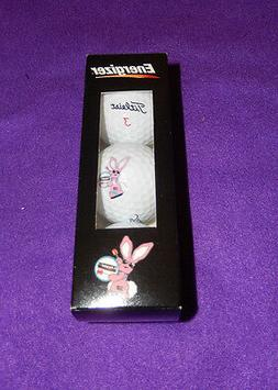 Energizer Bunny- Titleist Golf Balls- brand new in box- 3 pa