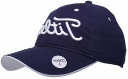Titleist Fashion Golf Ball Marker Hat Adjustable Navy White