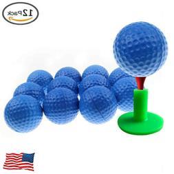Foam Sponge Golf Balls For Swing Practice Training Indoor Ou