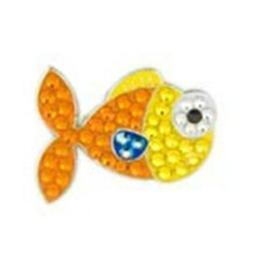 Bonjoc Goldfish Swarovski Crystal Ball Marker