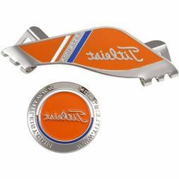 Titleist Golf Ball Marker with Hat Cap Clip AJBM71 Orange Ne