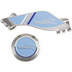 Titleist Golf Ball Marker with Hat Cap Clip AJBM71 Blue New