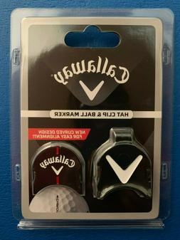 CALLAWAY Golf Ball Marker with Hat Clip - NEW DESIGN!