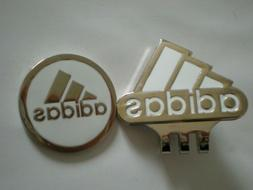 Adidas Golf Ball marker with hat clip