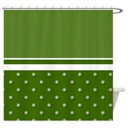 CafePress Golf Ball Pattern Shower Curtain