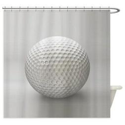 CafePress Golf Ball Sport Decorative Fabric Shower Curtain