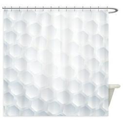 CafePress Golf Ball Texture Shower Curtain