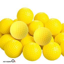 Golf Balls Foam Sponge 12 Count Indoor Outdoor Practice Fing