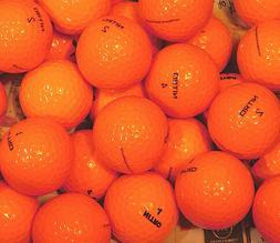 GOLF BALLS - ORANGE - NEW - 30 COUNT - NITRO - AAAAA