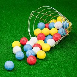 Golf Balls with Basket - 42 pk JEF World of Golf Foam Practi