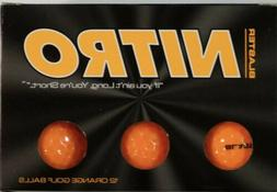 Nitro Golf # NBST12OBX Blaster Balls , Orange