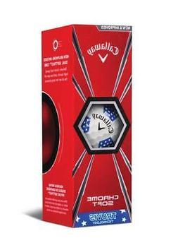 Callaway Golf Chrome Soft 2018 Truvis Golf Ball , Ltd Ed