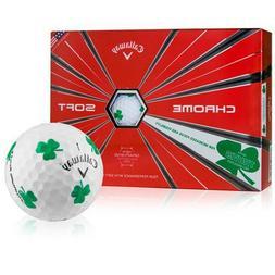 Callaway Golf Chrome Soft Truvis Shamrock Golf Balls   24 Ba
