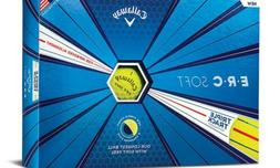 Callaway Golf ERC Soft Triple Track Golf Balls - Yellow 1 Do