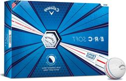 Callaway Golf ERC Soft Triple Track Golf Balls, , White, sof
