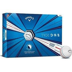 Callaway Golf ERC Soft Triple Track Golf Balls - White-12pk