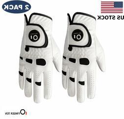 Golf Gloves Mens Ball Marker 2 Pack Left Hand Right Lh Rh Le