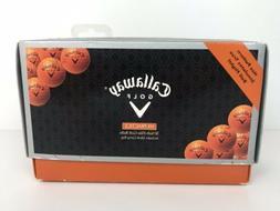 Callaway Golf HX Practice Golf Balls - 30 Pack - Orange, New