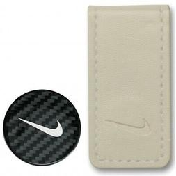 Nike Golf Pocket Money Clip and Ball Marker N71414 Grey/Whit